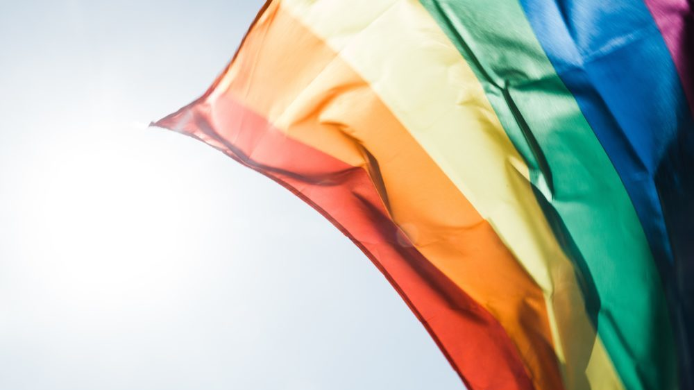 Min föreläsning om hbtq reder ut begreppen och leder till bättre bemötande. Bild på regnbågsflagga.